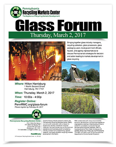 2017 Glass Forum Flyer